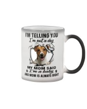 Jack Russell Terrier Telling Color Changing Mug thumbnail