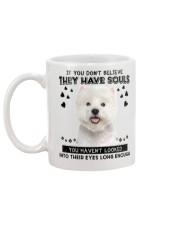 West Highland White Terrier Soul Mug back