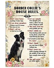 Border Collie Rules 11x17 Poster front