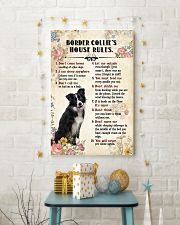 Border Collie Rules 11x17 Poster lifestyle-holiday-poster-3