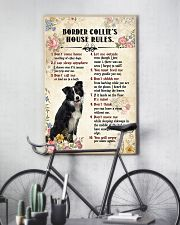 Border Collie Rules 11x17 Poster lifestyle-poster-7