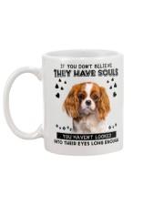 Cavalier King Charles Spaniel 1 Soul Mug back