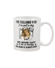 Scotch Collie Telling Mug front