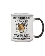 Scotch Collie Telling Color Changing Mug thumbnail
