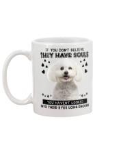 Bichon Frise Soul Mug back