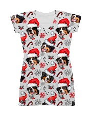Bernese Mountain Dog Xmas Decor All-over Dress thumbnail