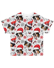 Bernese Mountain Dog Xmas Decor All-over T-Shirt front