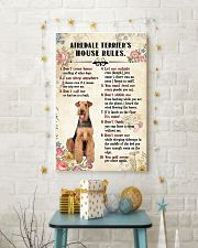 Airedale Terrier Rules 11x17 Poster lifestyle-holiday-poster-3