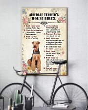 Airedale Terrier Rules 11x17 Poster lifestyle-poster-7