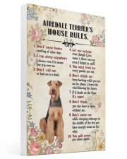 Airedale Terrier Rules Gallery Wrapped Canvas Prints tile