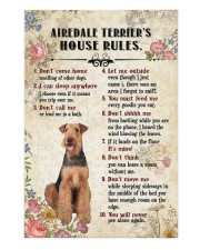 Airedale Terrier Rules Puzzles tile