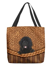 Newfoundland Rattan All-over Tote back