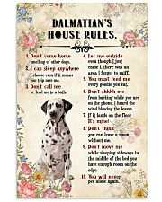 Dalmatian Rules 11x17 Poster front