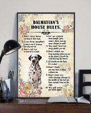 Dalmatian Rules 11x17 Poster lifestyle-poster-2