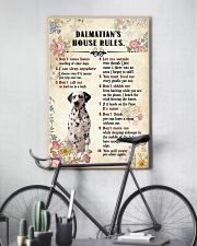 Dalmatian Rules 11x17 Poster lifestyle-poster-7