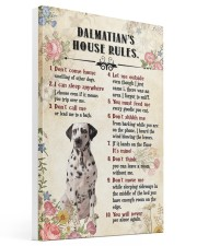 Dalmatian Rules 16x24 Gallery Wrapped Canvas Prints thumbnail
