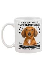 Dachshund Soul Mug back