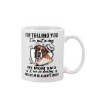 Boxer Telling Mug front
