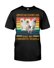 American Eskimo Dog Favorite Classic T-Shirt front