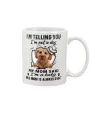 Cockapoo Telling Mug front