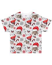 Weimaraner Xmas Decor All-over T-Shirt front