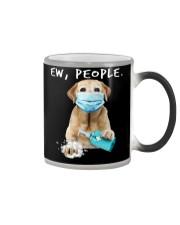 Labrador Retriever Eww Color Changing Mug tile