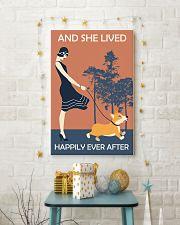 Corgi Happy 11x17 Poster lifestyle-holiday-poster-3