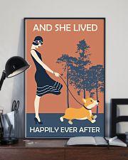 Corgi Happy 11x17 Poster lifestyle-poster-2