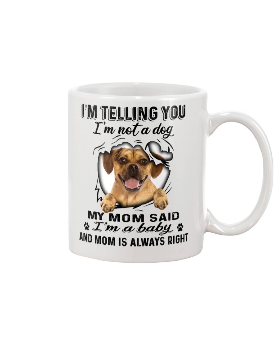 Puggle Telling Mug