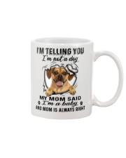 Puggle Telling Mug front