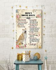 Akita Rules 11x17 Poster lifestyle-holiday-poster-3