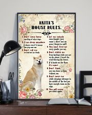 Akita Rules 11x17 Poster lifestyle-poster-2