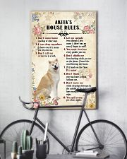 Akita Rules 11x17 Poster lifestyle-poster-7