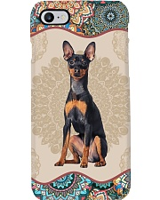 Miniature Pinscher Boho Mandala PC Phone Case i-phone-7-case