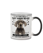 Great Dane Soul Color Changing Mug tile