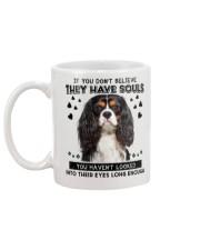 Cavalier King Charles Spaniel 2 Soul Mug back