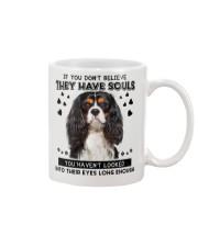 Cavalier King Charles Spaniel 2 Soul Mug front