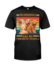 Goldendoodle Favorite Classic T-Shirt front