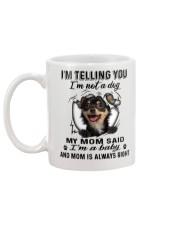Chihuahua Telling Mug back
