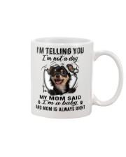 Chihuahua Telling Mug front