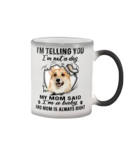 Corgi Telling Color Changing Mug thumbnail
