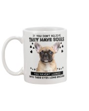 French Bulldog Soul Mug back