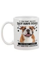 English Bulldog Soul Mug back