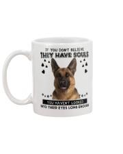 German Shepherd Soul Mug back