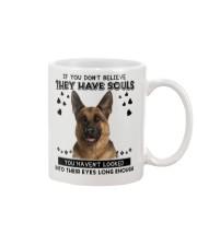 German Shepherd Soul Mug front