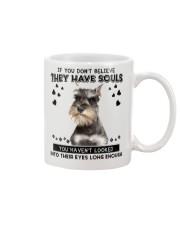 Miniature Schnauzer Soul Mug front