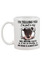 American Hairless Terrier Telling Mug back