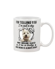 West Highland White Terrier Telling Mug front