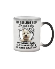 West Highland White Terrier Telling Color Changing Mug thumbnail
