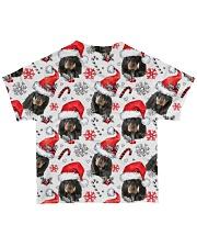 Black Tan Coonhound Xmas Decor All-over T-Shirt back